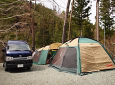 とやの沢オートキャンプ場