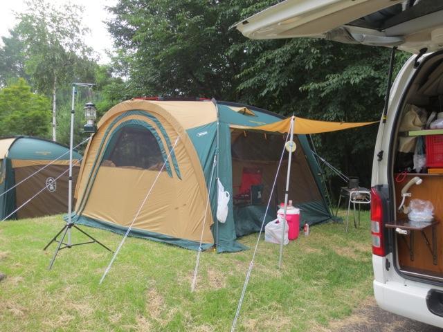 山梨県にキャンプ その2