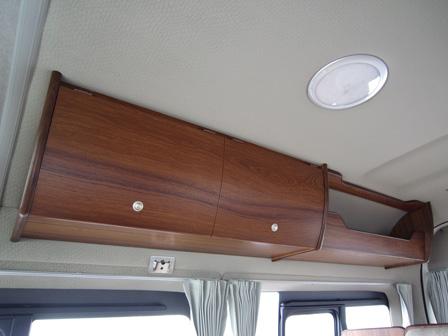 サイドオーバーヘッド収納棚