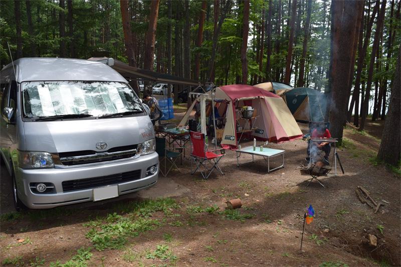 明野ふれあいの里オートキャンプ場2