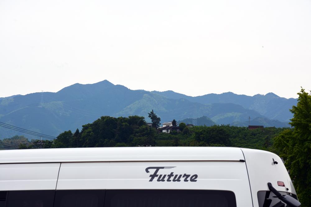 FUTURE越しの『高野山』