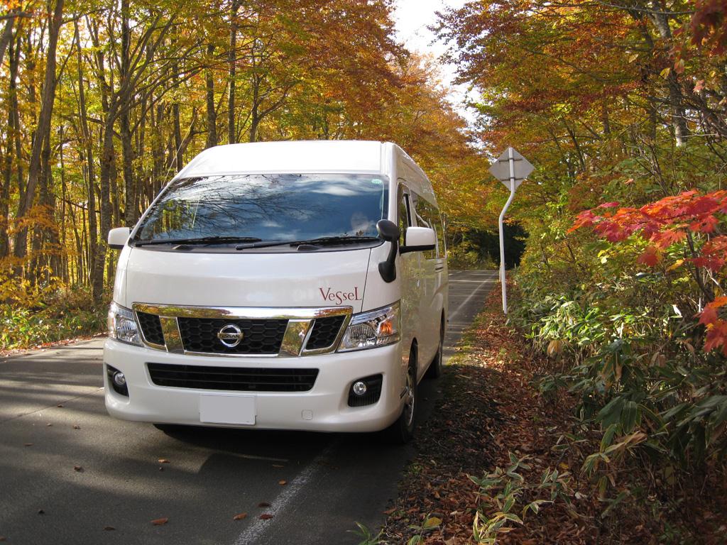 須賀高原の紅葉