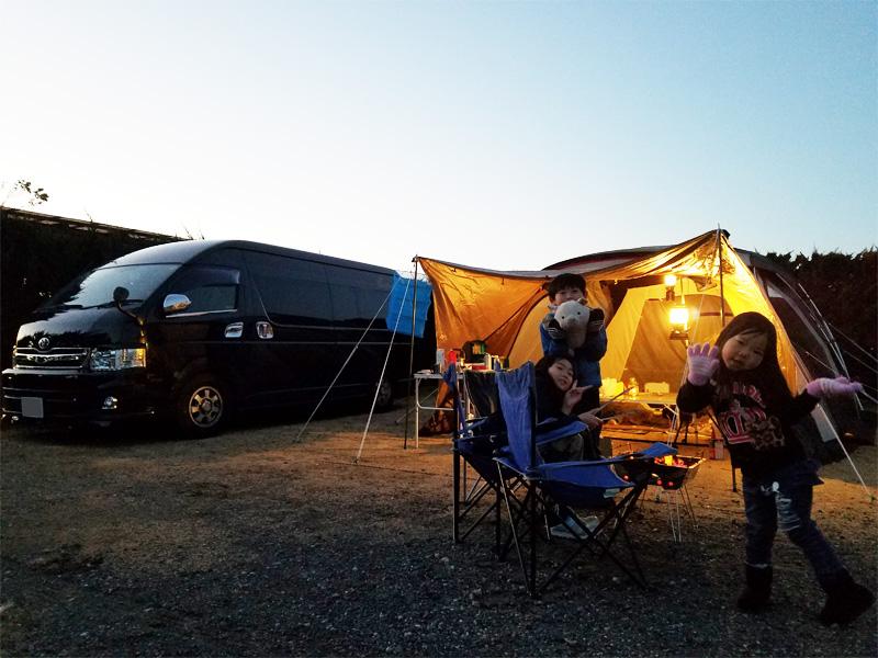 千葉でのwinterキャンプ