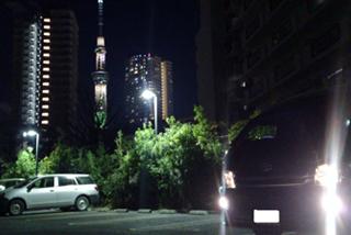 「Sky tree」と黒Duo