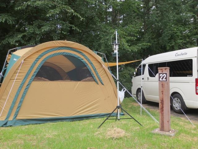 山梨県にキャンプ その1