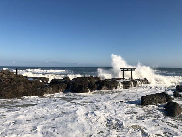大晦日は大洗海岸