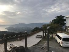 しまなみ海道 向島 高見山展望台にて